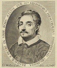 "Girolamo Frescobaldi (1583 - 1643) ---------- Aria called ""la Frescobalda"" -------------------- Aria with variations F 3.32"